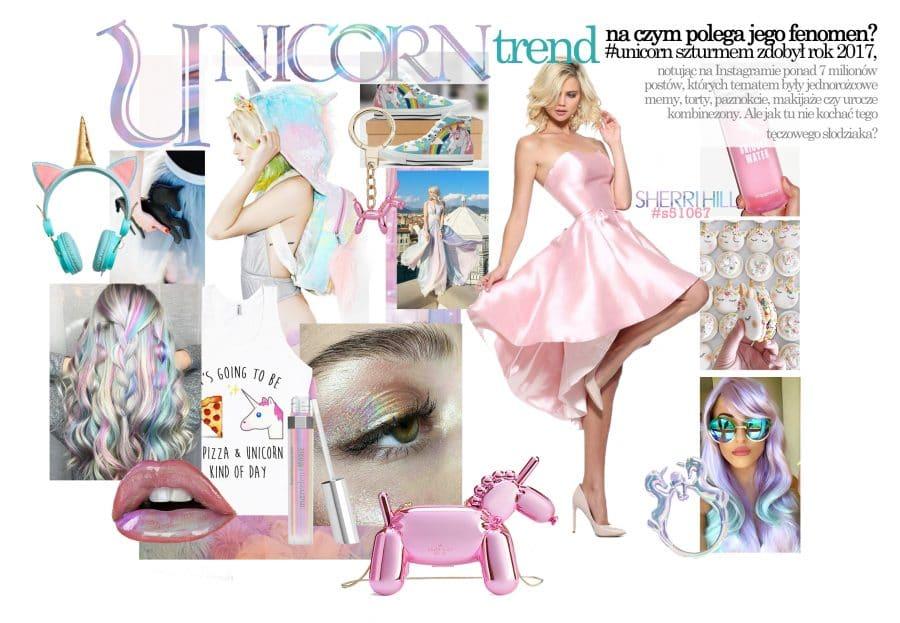 Jak się ubrać na karnawał - motyw unicorn inspiracje przyjęcie w stylu jednorożca jaka suknienka co włożyć na karnawał