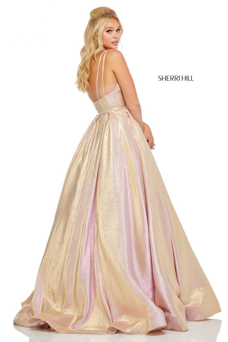 sherrihill-52755-rosegold-dress-5