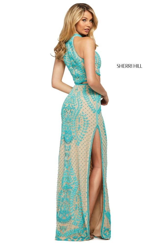 sherrihill-53436-nudeturquoise-45579
