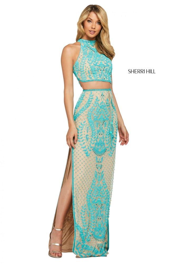 sherrihill-53436-nudeturquoise-45580