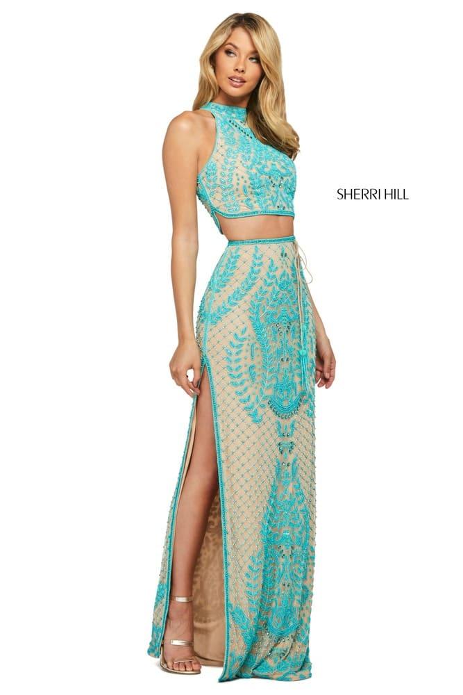 sherrihill-53436-nudeturquoise-45581
